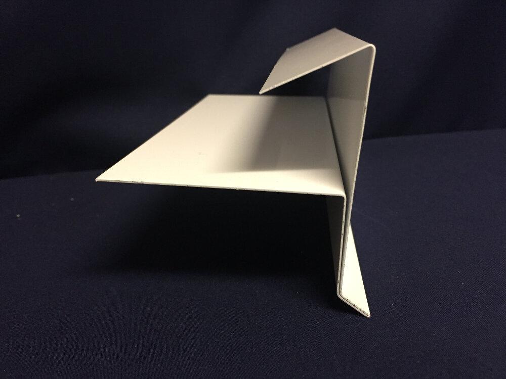 Concealed Fastner Gable Trim Dave S Sheet Metal